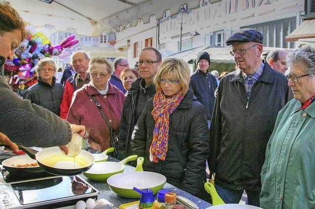 Zwei Tage Martinimarkt in Ettenheim