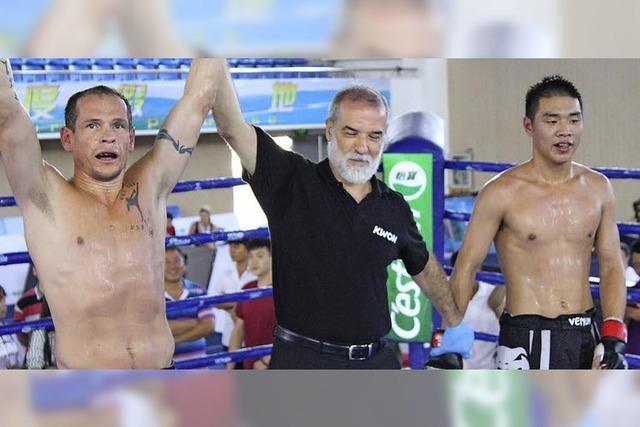 Thaibox-Weltmeister Tritschler gewinnt MMA-Turnier in China