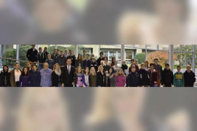 Bonndorfer Werkrealschüler zu Gast im Landtag