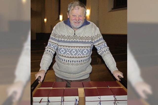 Nach mehr als 35 Jahren gibt Helmuth Gertz den Schlüssel ab