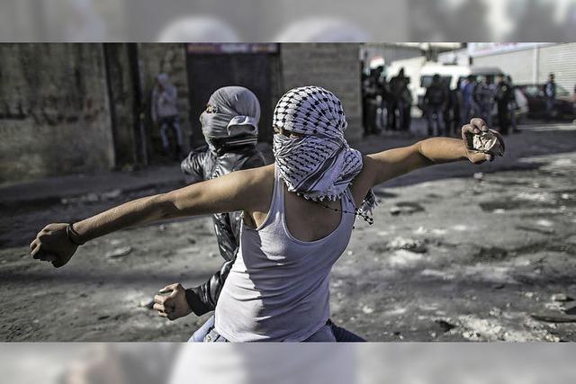 Straßenkrawalle in Jerusalem