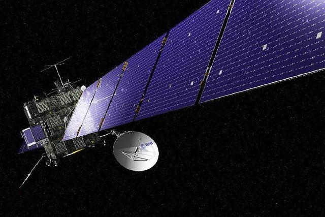 Kometensonde Rosetta erreicht nach zehn Jahren ihr Ziel
