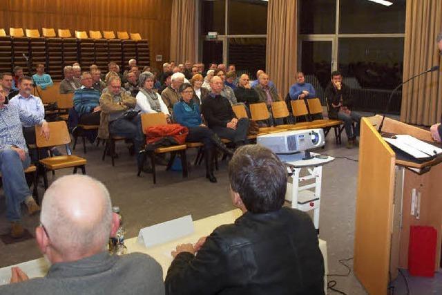 Bürgerversammlung in Kenzingen zur Flüchtlingssituation