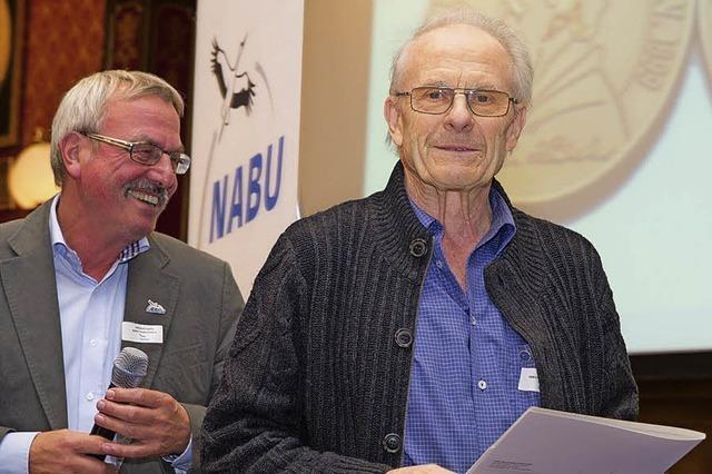Bundesweit höchste Nabu-Auszeichnung für Udo Baum