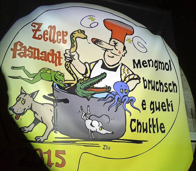 Ganz schön ausgekocht: Das Motto der Zeller Kampagne.  | Foto: Silke Hartenstein