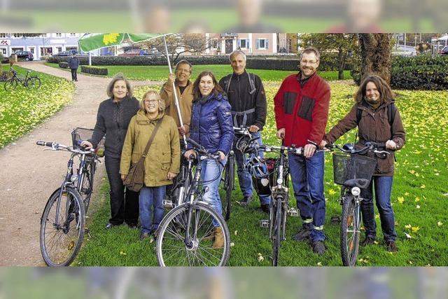 Willkommen für die Radtouristen