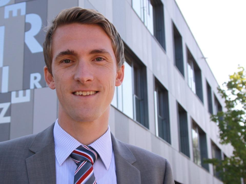 Raphael Walz ist neuer Bürgermeister von Gundelfingen.    Foto: Max Schuler