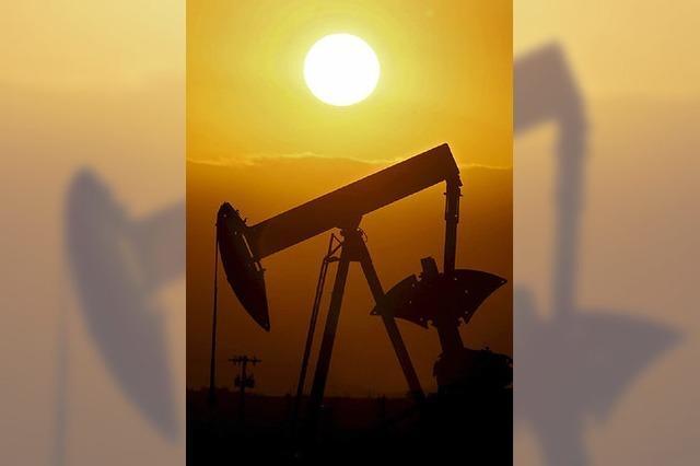 Der Ölpreis befindet sich im freien Fall