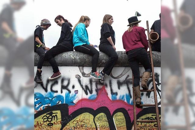 Hunderttausende feiern in Berlin den Mauerfall vor 25 Jahren