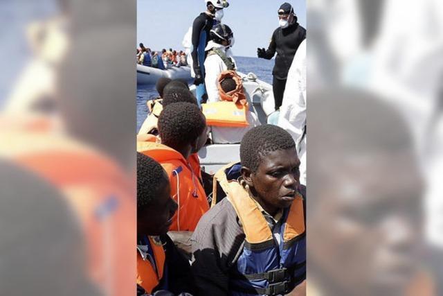 Bootsflüchtlinge und die EU - Italien fühlt sich allein gelassen