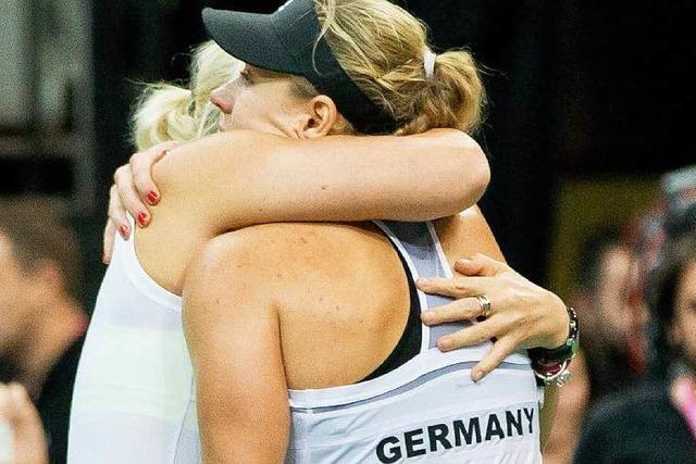 Fed-Cup-Finale: Tränen statt Triumph für Deutschland