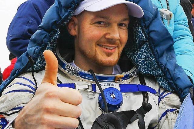 Astronaut Gerst ist wieder auf der Erde