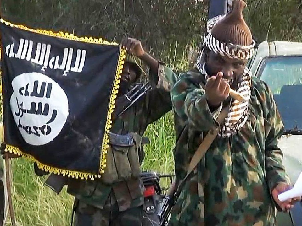 Kämpfer der Boko Haram    Foto: AFP