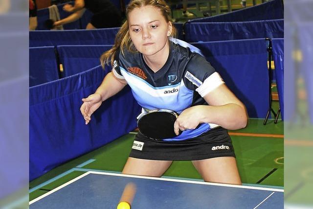 Anna Lasarzick dominiert die Bezirksmeisterschaft