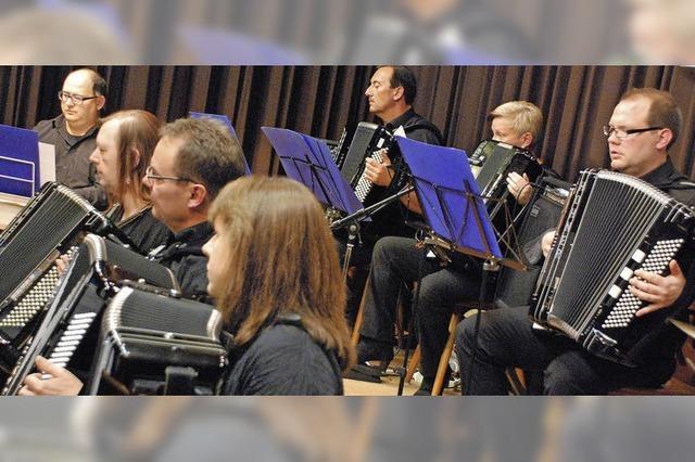 Kleines Orchester mit gewaltigem Klang