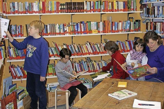 Zehn Jahre Dorfbücherei