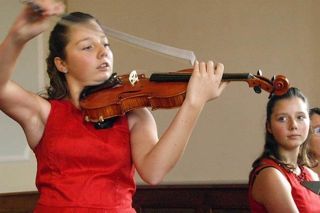 Musikalisches Talent – und das mal zwei