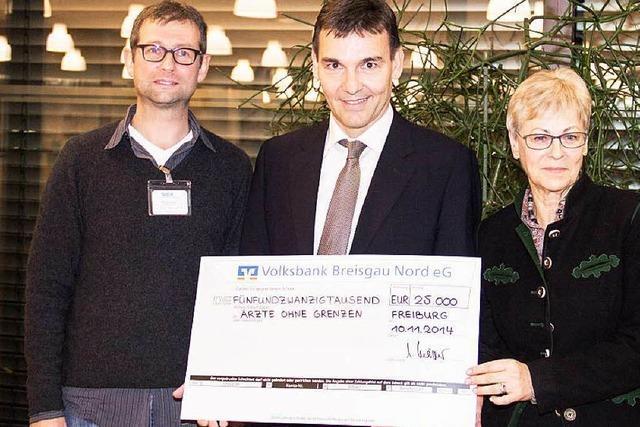 Sick spendet 25.000 Euro an