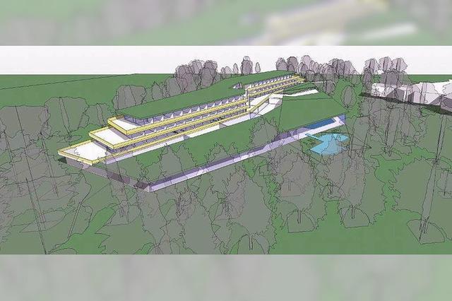 Bad Krozinger Bürger sollen über Hotelbau im Kurpark entscheiden
