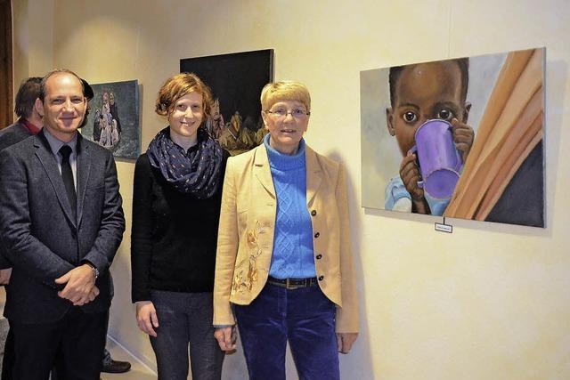 Kunstausstellung zugunsten von Unicef