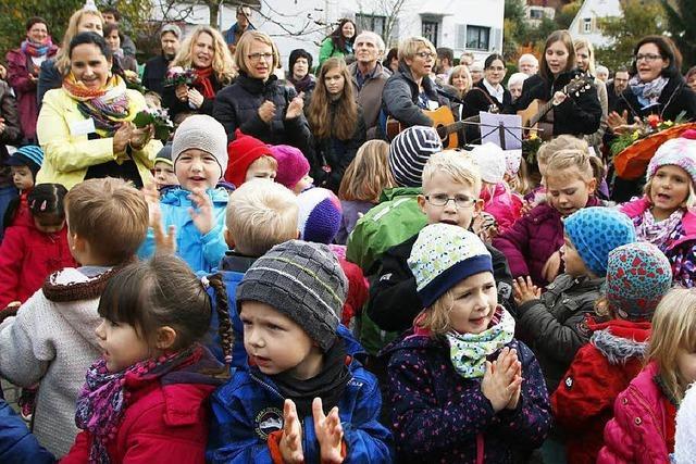 Einweihung der Kita St. Nikolaus in Seelbach