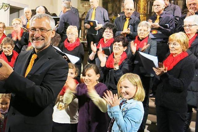 Chor und Musiker beeindrucken
