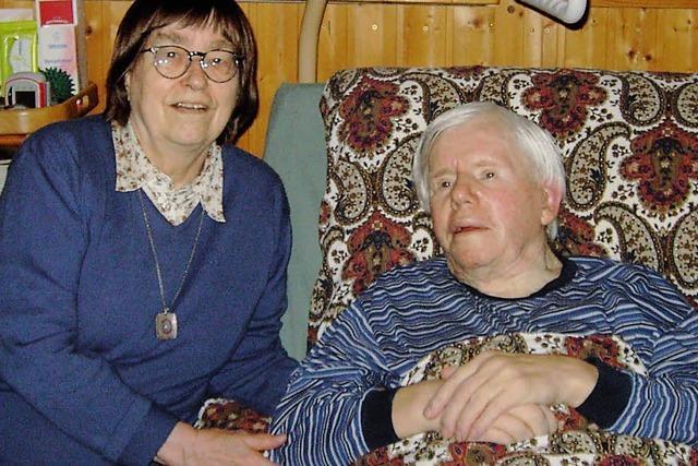 Seit 50 Jahren zusammen glücklich