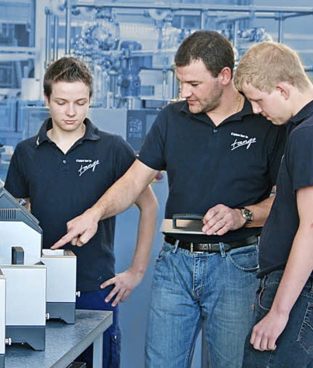 Topp ausgebildete Ingenieure stellen s...cht den Herausforderungen der Zukunft.  | Foto: PR / Unternehmen