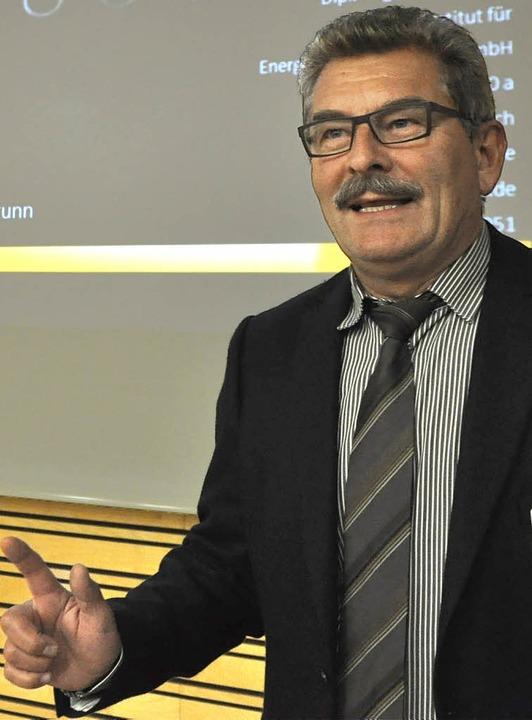<Text>Markus Palic</Text> – Referent beim Wirtschaftsgespräch.  | Foto: R. Ruther