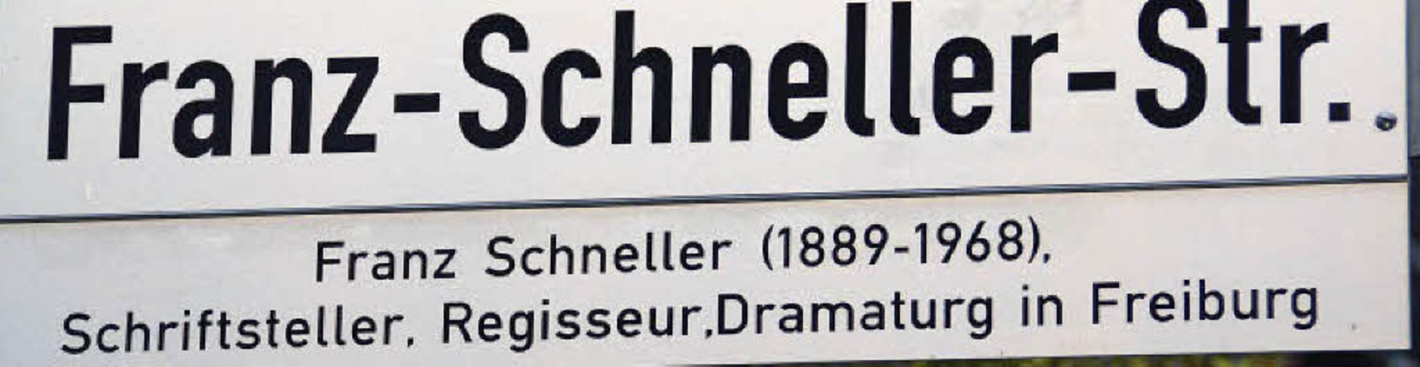 Neue Straßennamen in Gundelfingen  | Foto: Andrea Steinhart