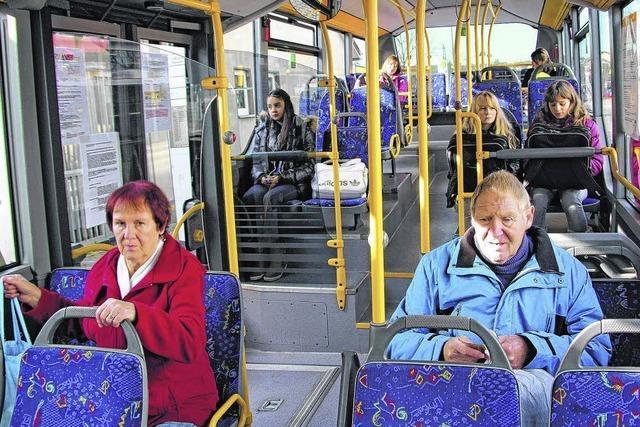 Stadtbus als Alternative zum Auto