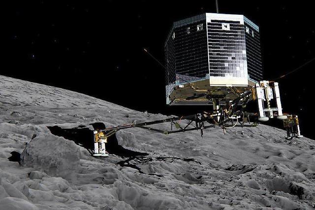 Erste Landung auf einem Kometen geglückt – Zittern geht weiter