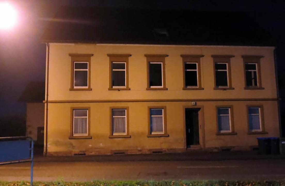 In der ehemaligen Wirtschaft gegenüber...rische Kriegsflüchtlinge untergebracht  | Foto: Georg Voß