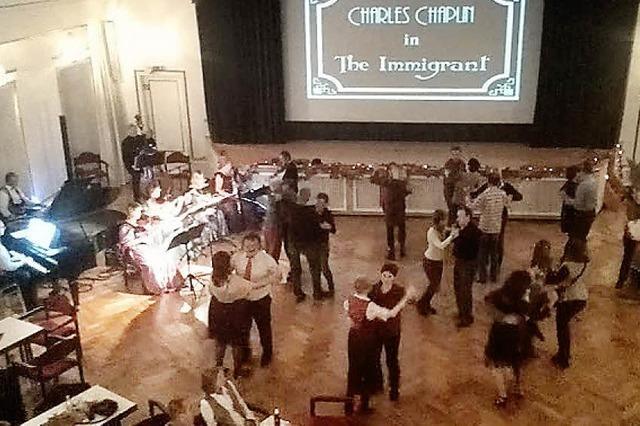 Stummfilm- und Tanzabend im Kursaal