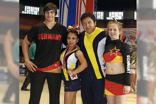 Zeller Cheerleader gewinnen in Havanna