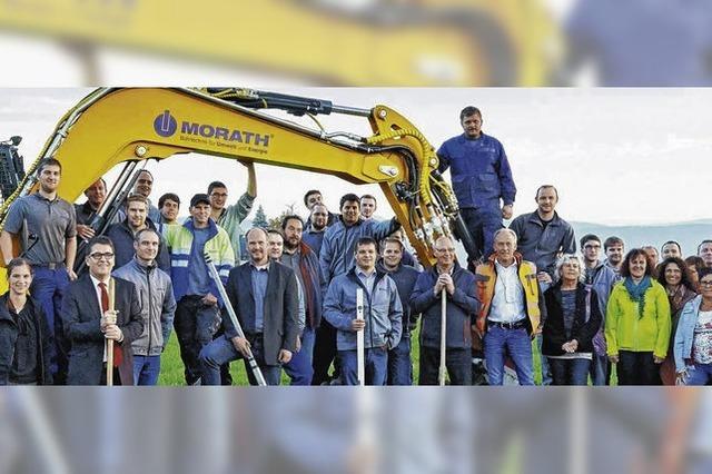Firma Morath investiert Millionen in neuen Firmensitz in Birndorf