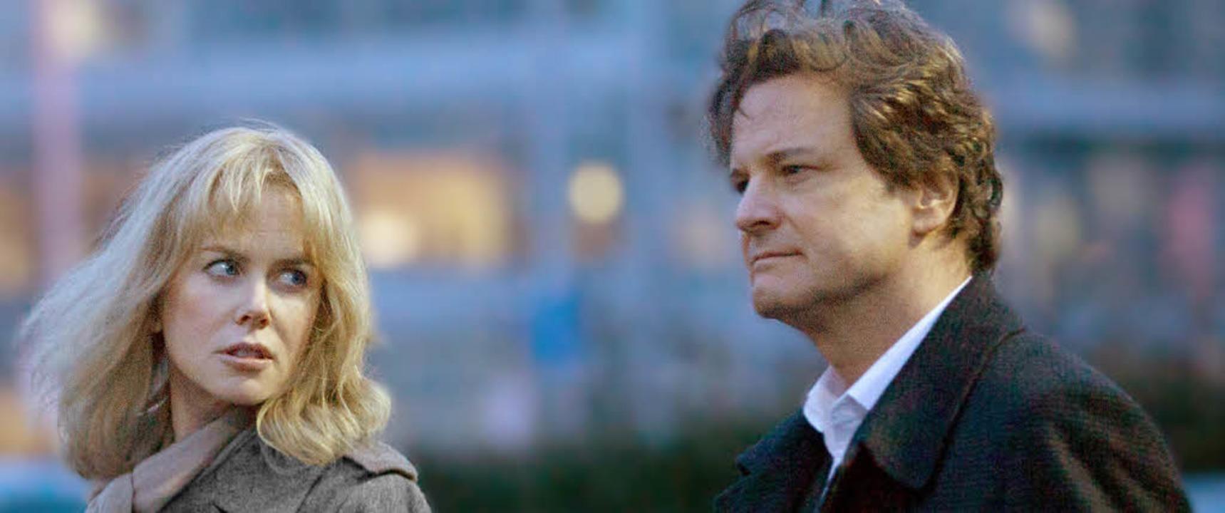 Wer bist Du? Nicole Kidman und Colin Firth als Ehepaar  | Foto: Sony