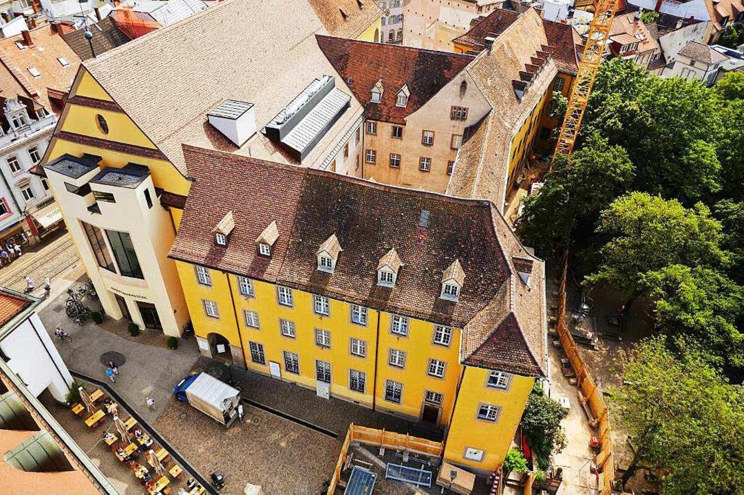 2020 soll das Augustinermuseum fertig sein.  | Foto: Florian Bilger, zur Verfügung gestellt von Gebäudemanagement Freiburgm