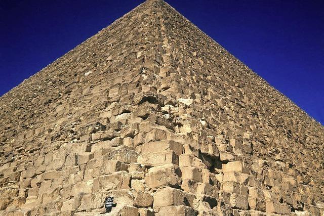 Räuberpistole in der Cheops-Pyramide: Prozess um Entnahme von Gesteinsproben
