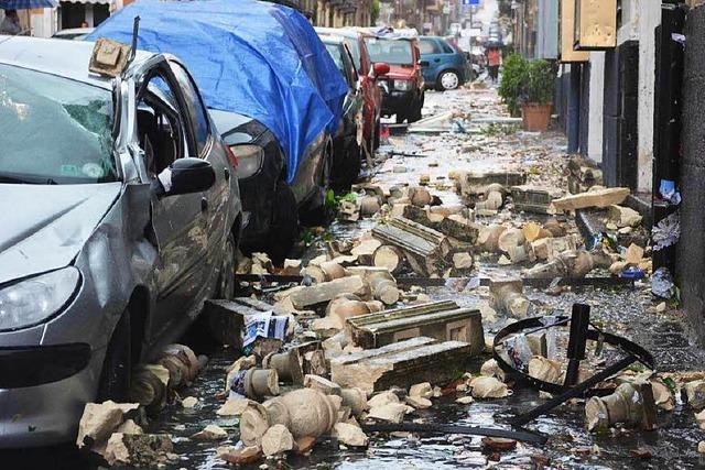 Starkregen und Bausünden haben fatale Folgen für Italien