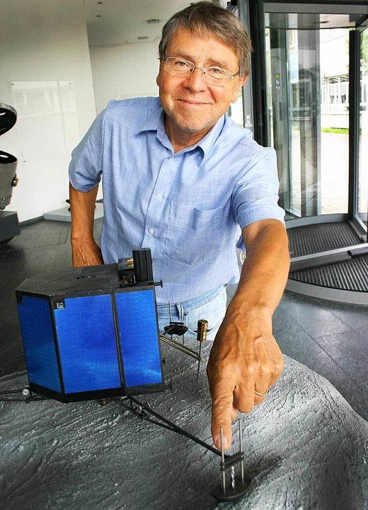 Entwickelte die Landebeine von Philae: Hans-Jürgen Jung   | Foto: astrium