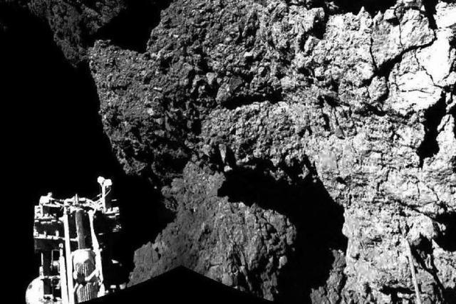 Rosetta landet erfolgreich - aber nicht ganz nach Plan
