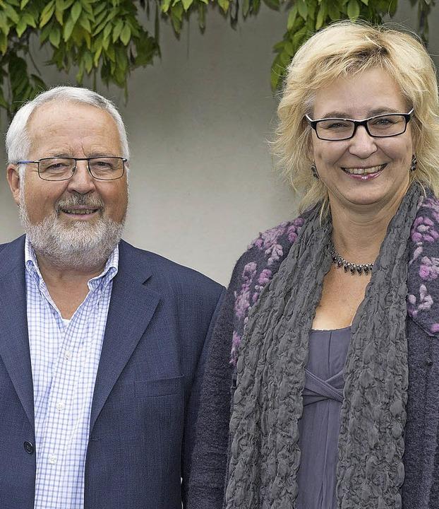 Stehen neu an der Spitze des Bürgersoz...Dieter Grether und Susanne Steinkuhl.     Foto: Volker Münch