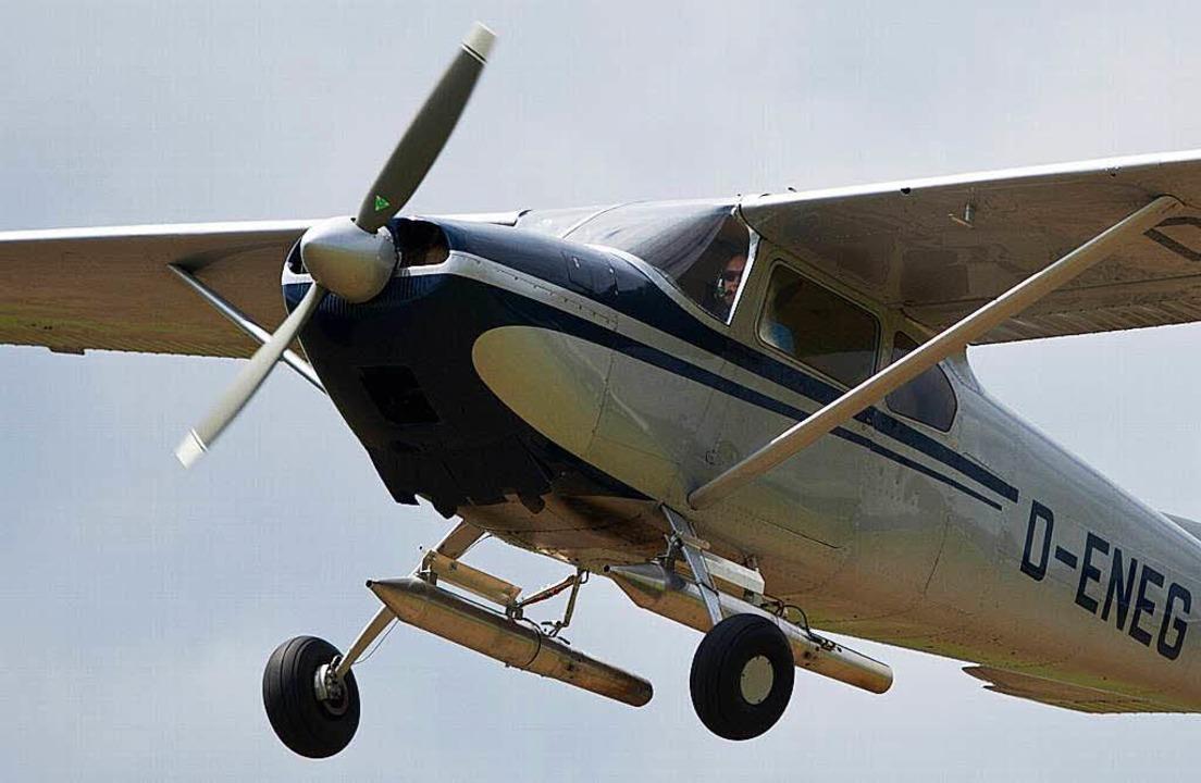 Kleine Cessnas müssen Anfang Dezember in Südbaden auf dem Boden bleiben.     Foto: dpa