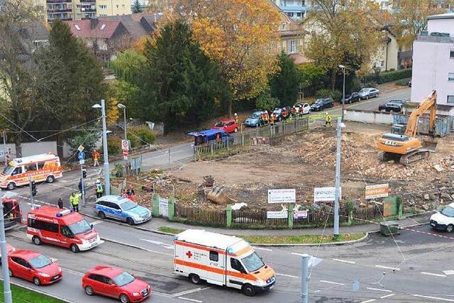 Gasalarm in Weil-Friedlingen – Anschluss bei Abrissarbeiten beschädigt