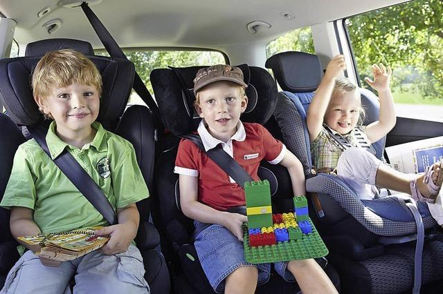 Das richtige Auto für Familien