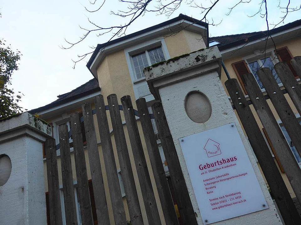 Die Zukunft des Geburtshauses in Lörrach ist ungewiss.   | Foto: Gramespacher