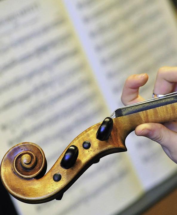 Streicher können sich als Ensemble gemeinsam mit Pianisten bewerten lassen.     Foto: Thomas Kunz