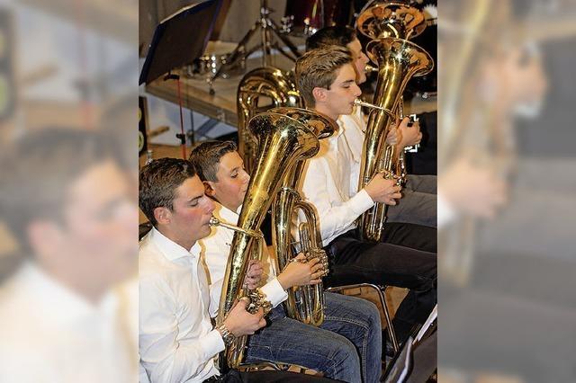Konzertauftakt mit der Jugend