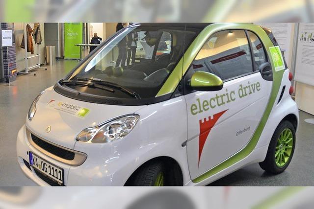 Stadt setzt auf Mobilitätsstationen und peilt 100 E-Fahrzeuge an